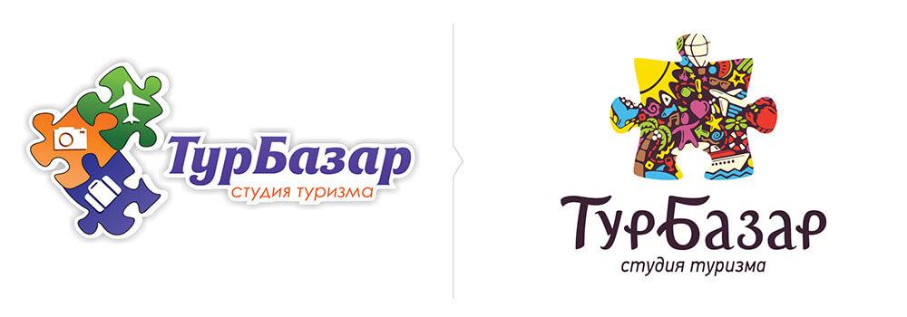 редизайн логотипа «Турбазара»