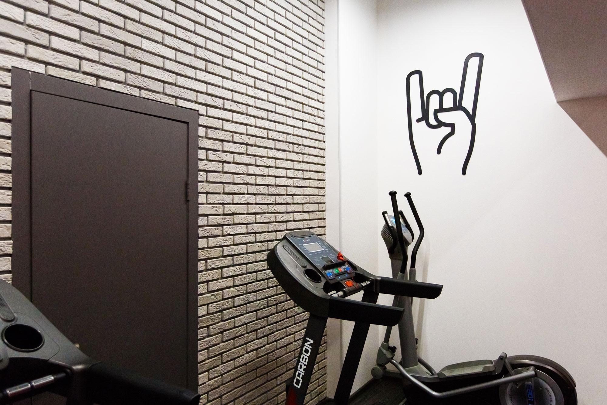 Дизайн интерьера фитнес-клуба в Сургуте