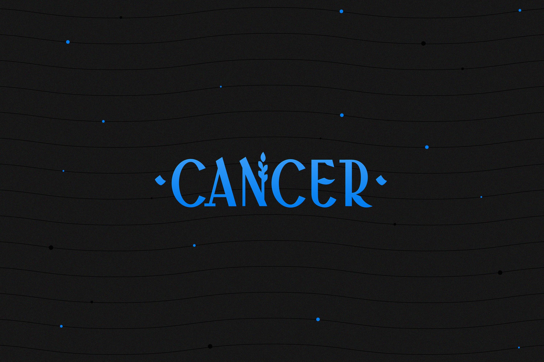 Логотип рак cancer