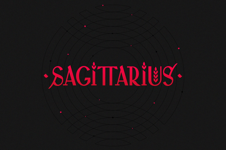 Логотип стрелец sagittarius