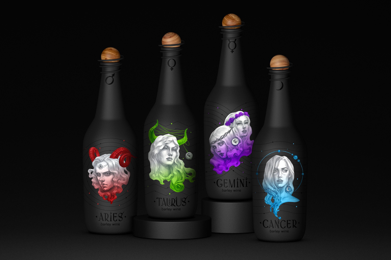 Дизайн этикетки крафтового пива